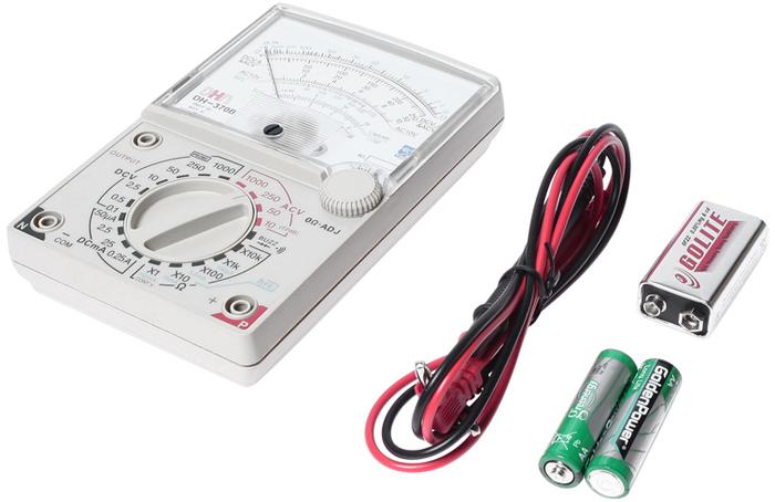 JTC Мультиметр аналоговый с функцией звуковой сигнализации. JTC-1441