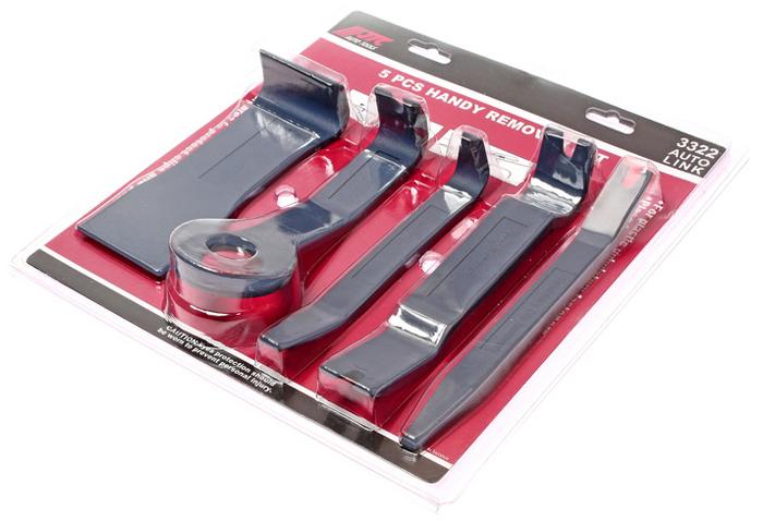 Набор съемников JTC для демонтажа облицовочных панелей, 5 предметов. JTC-3322