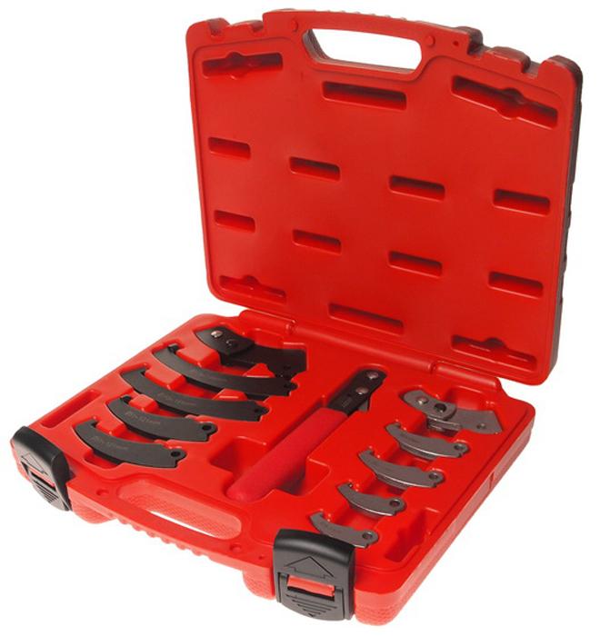 JTC Набор ключа с насадками для круглых гаек с прорезью. JTC-4455