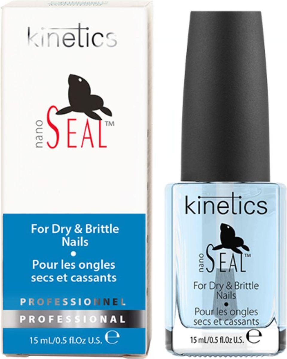 Kinetics Ежедневная терапия для сухих и ломких ногтей Nano Seal (Тюлень), 15 мл nail tek средство для сухих и ломких ногтей citra iii 14 мл