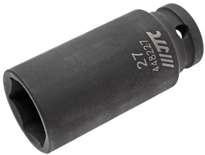 головка торцевая ударная jtc 6 гранная 1 2 х 10 мм длина 38 мм jtc 443810 Головка торцевая JTC, ударная, глубокая 6-гранная 1/2 х 27 мм, длина 82 мм. JTC-448227