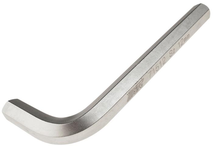 Ключ шестигранный JTC Г-образный H12. JTC-71512 ключ jtc 71510 шестигранный г образный h10