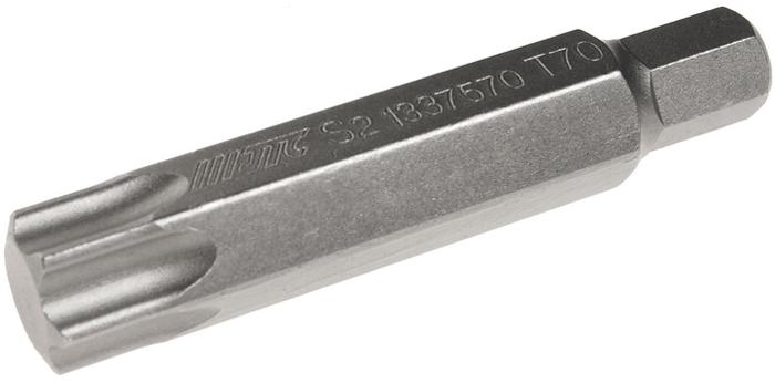 JTC Вставка 10 мм TORX удлиненная Т70х75 мм. JTC-1337570 jtc вставка 10 мм torx удлиненная т70х75 мм jtc 1337570