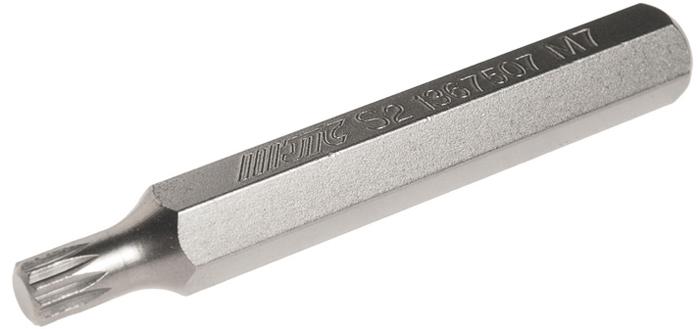 Вставка JTC, удлиненная, 10 мм, SL, М7х75. JTC-1367507 бита jtc spline удлиненная м14х75 мм 10 мм jtc 1367514