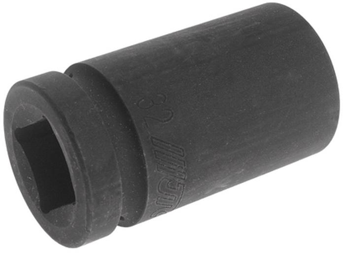 Головка торцевая JTC, глубокая, ударная 6-гранная, 1 х 32 мм, длина 90 мм. JTC-849032JTC-849032Головка торцевая JTC изготовлена из закаленной хром-ванадиевой стали.6 граней, метрический размер.Размер: 1 х 32 мм.Длина: 90 мм.