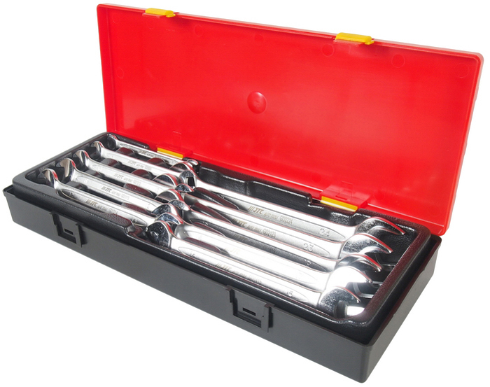 JTC Набор ключей рожковых двухсторонних , 10 предметов. JTC-K6103