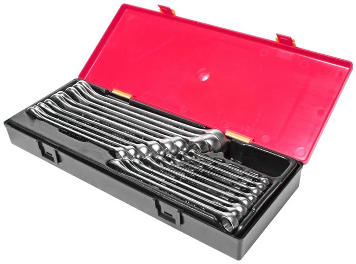 Набор ключей JTC, комбинированных, 17 шт. JTC-K6172 ключ jtc 5103 8 9 мм