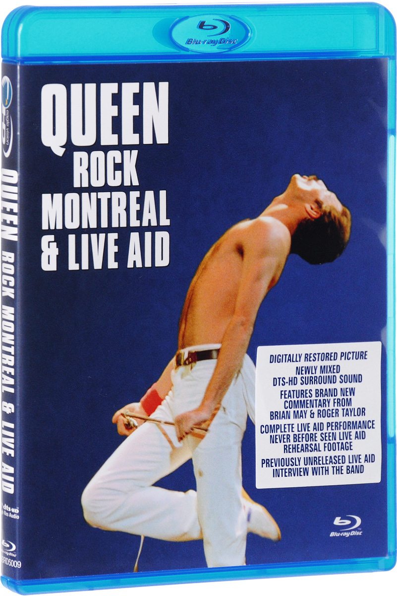 лучшая цена Queen: Rock Montreal & Live Aid (Blu-ray)