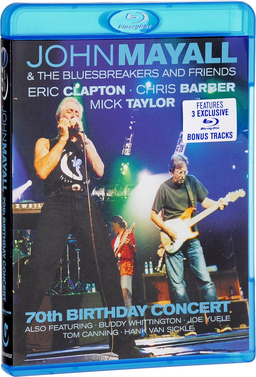 John Mayall & The Bluesbreakers & Friends: 70th Birthday Concert (Blu-ray) цена и фото