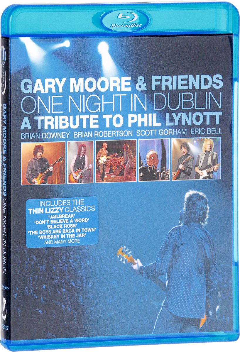 Gary Moore & Friends: One Night In Dublin. A Tribute To Phil Lynott (Blu-ray) john rae the old boys network a headmaster s diaries 1972 1986
