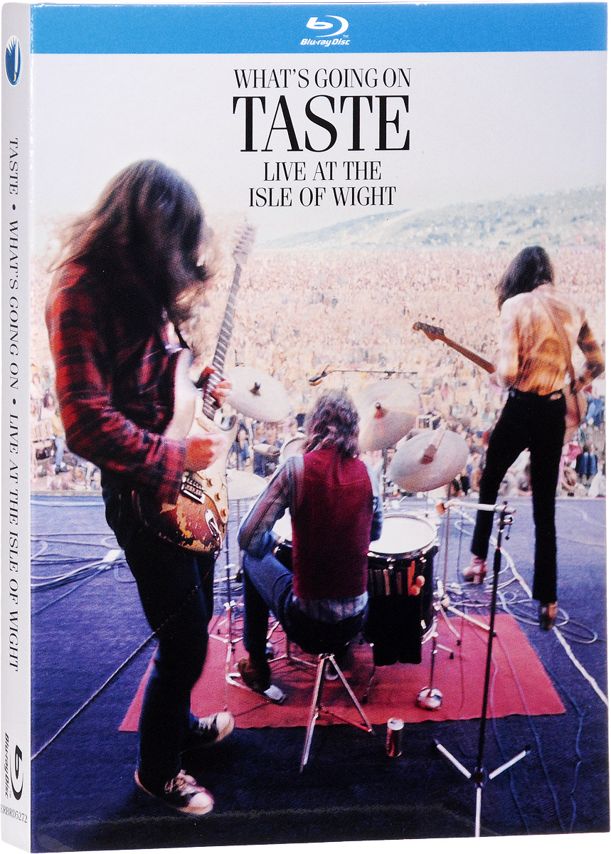 Taste: What's Going On - Live At The Isle Of Wight (Blu-ray) sir cumference and the isle of immeter