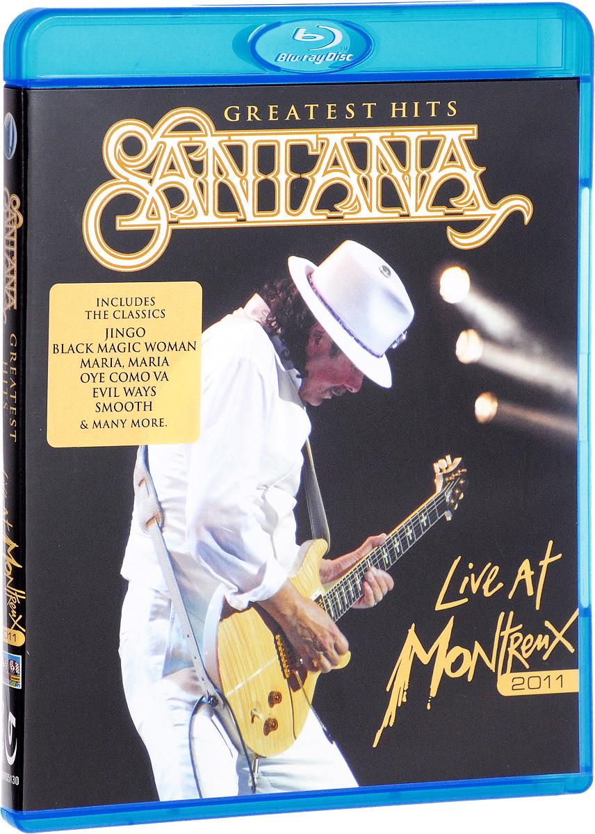 купить Santana: Greatest Hits - Live At Montreux 2011 (Blu-ray) по цене 1830 рублей