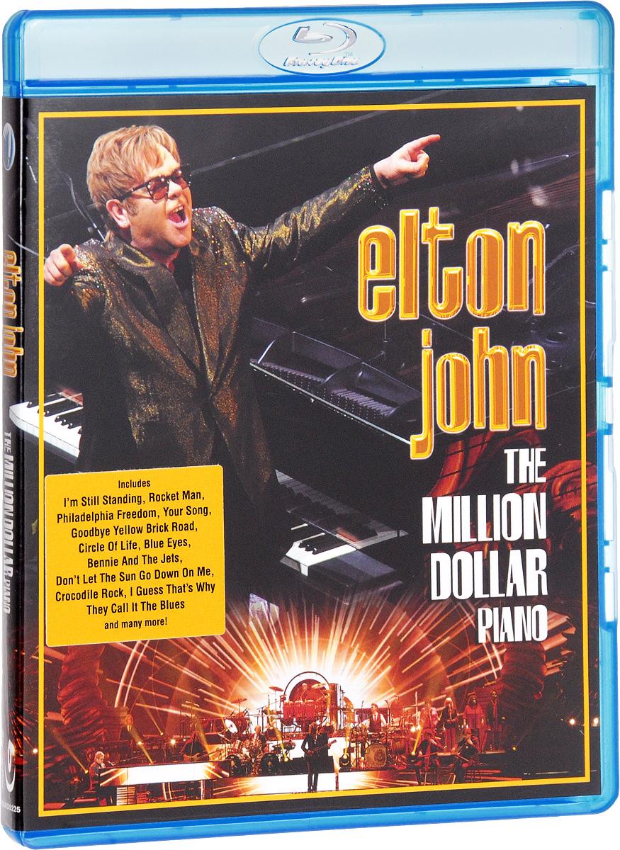 Elton John: The Million Dollar Piano (Blu-ray) elton john elton john don t shoot me i m only the piano player