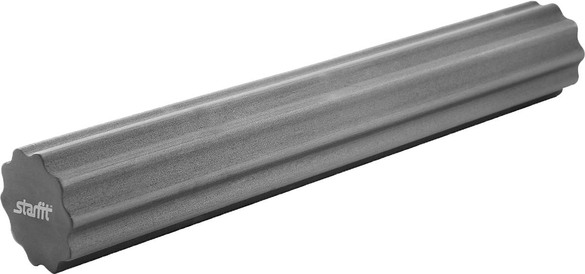 """Ролик для йоги и пилатеса Starfit """"FA-505"""", цвет: серый, 15 х 15 х 90 см"""