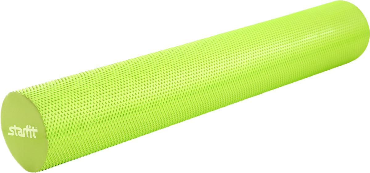 Ролик для йоги и пилатеса Starfit FA-506, цвет: зеленый, 15 х 15 х 90 см ролик для йоги и пилатеса starfit fa 506 цвет зеленый 15 х 15 х 90 см