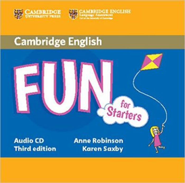 Fun for Starters (аудиокурс на CD) going for gold аудиокурс на 2 cd