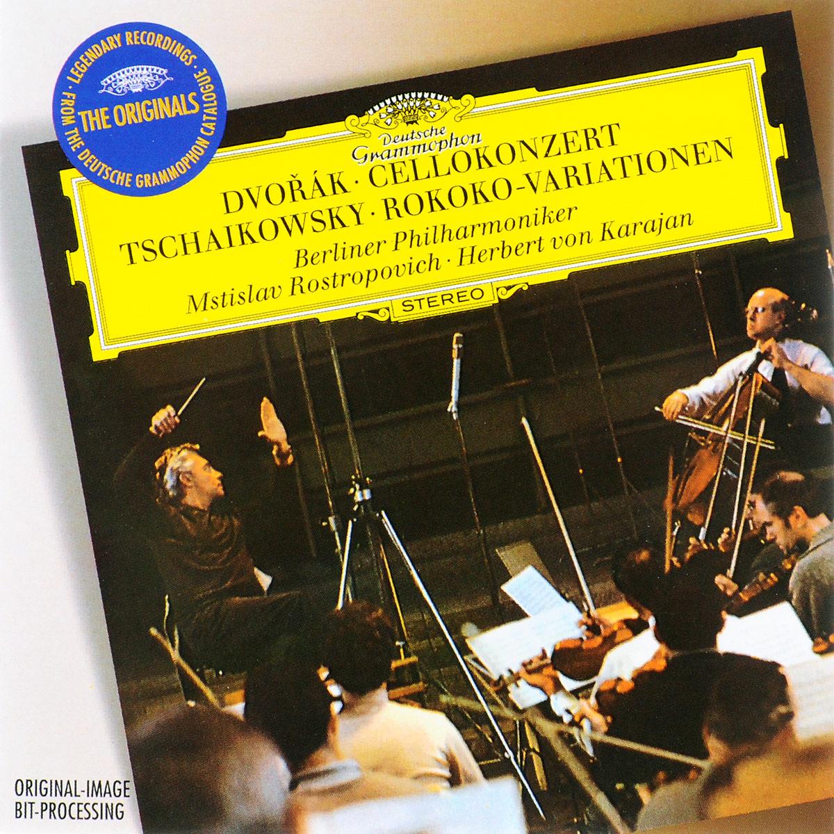 цена на Мстислав Ростропович,Berliner Philharmoniker,Герберт Караян Mstislav Rostropovich, Berliner Philharmoniker, Herbert von Karajan. Dvorak. Cello Concerto / Tchaikovsky. Variations