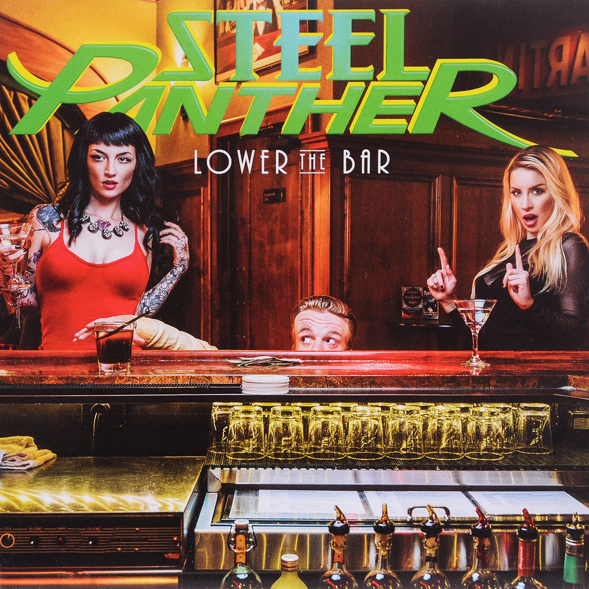 цена Steel Panther Steel Panther. Lower The Bar онлайн в 2017 году