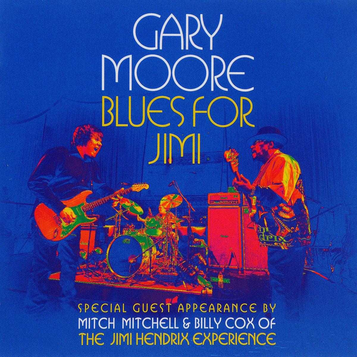 лучшая цена Гэри Мур Gary Moore. Blues For Jimi (CD + DVD)