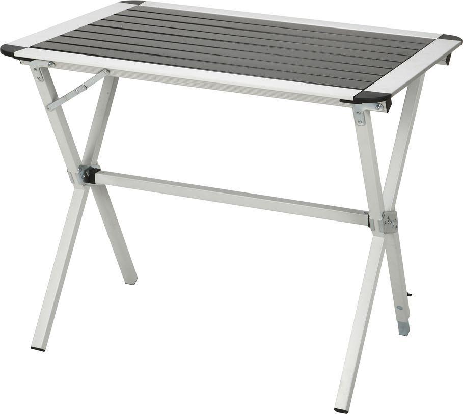 Стол складной Greenwood TA-401S, цвет: серый, 80 x 60 х 70 см