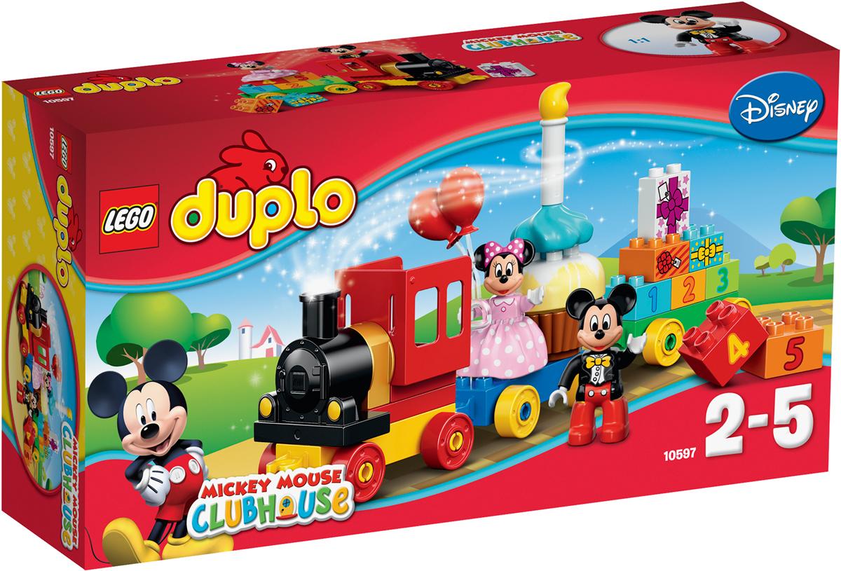 LEGO DUPLO 10597 День рождения с Микки и Минни Конструктор lubby ниблер микки и минни от 6 месяцев