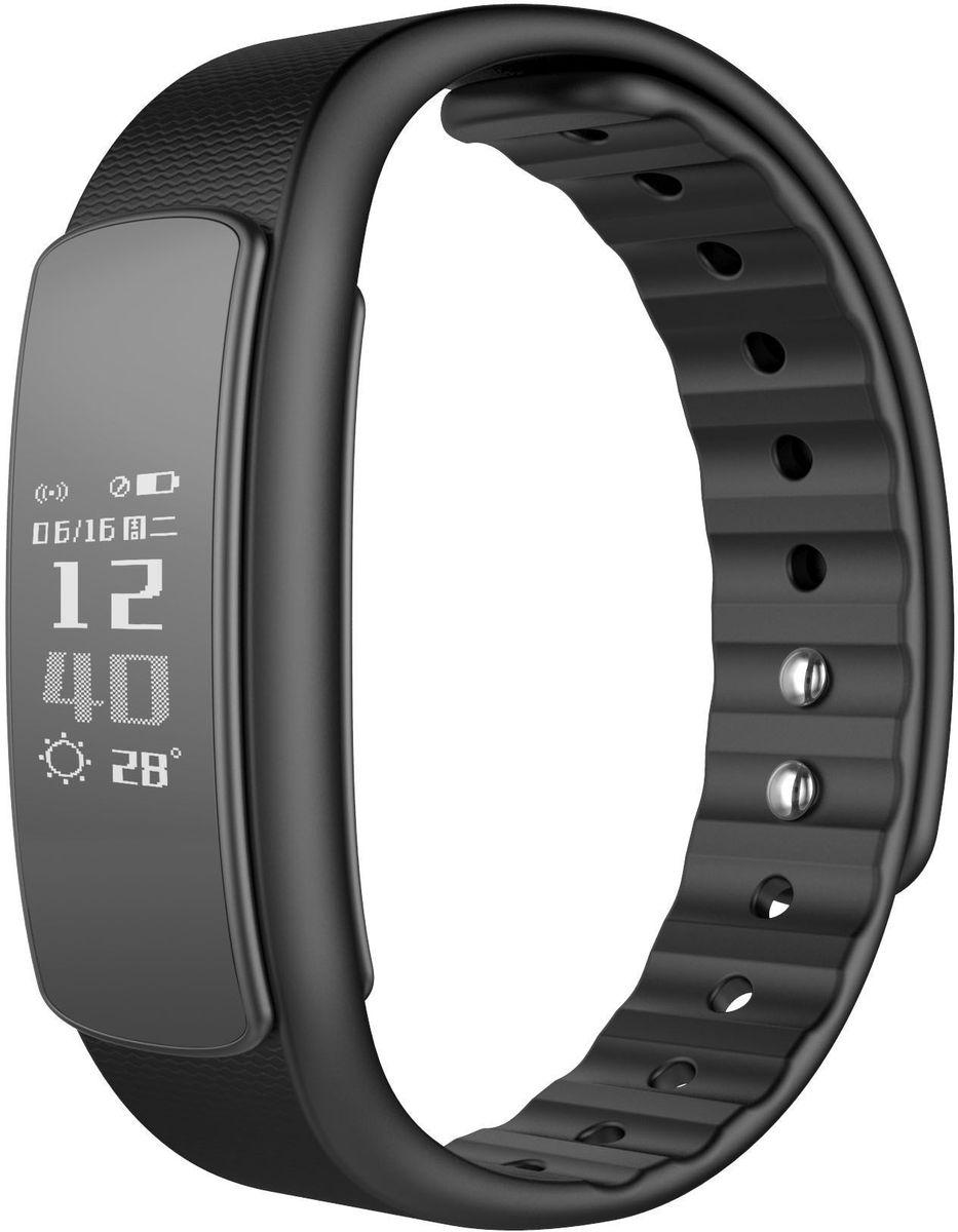 Фитнес-браслет iWOWN i6HR, черный цена и фото