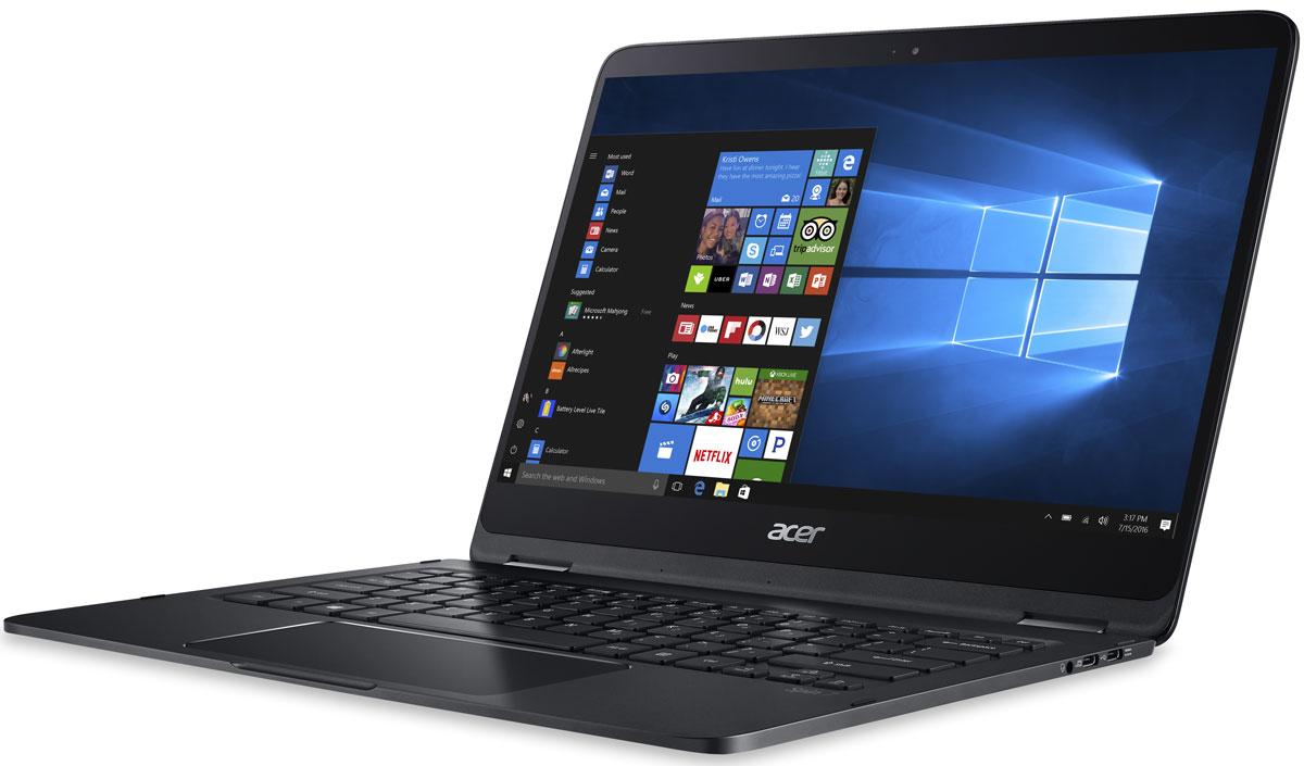 "14"" Ноутбук Acer Spin 7 SP714-51 (NX.GMWER.002), черный. Уцененный товар"