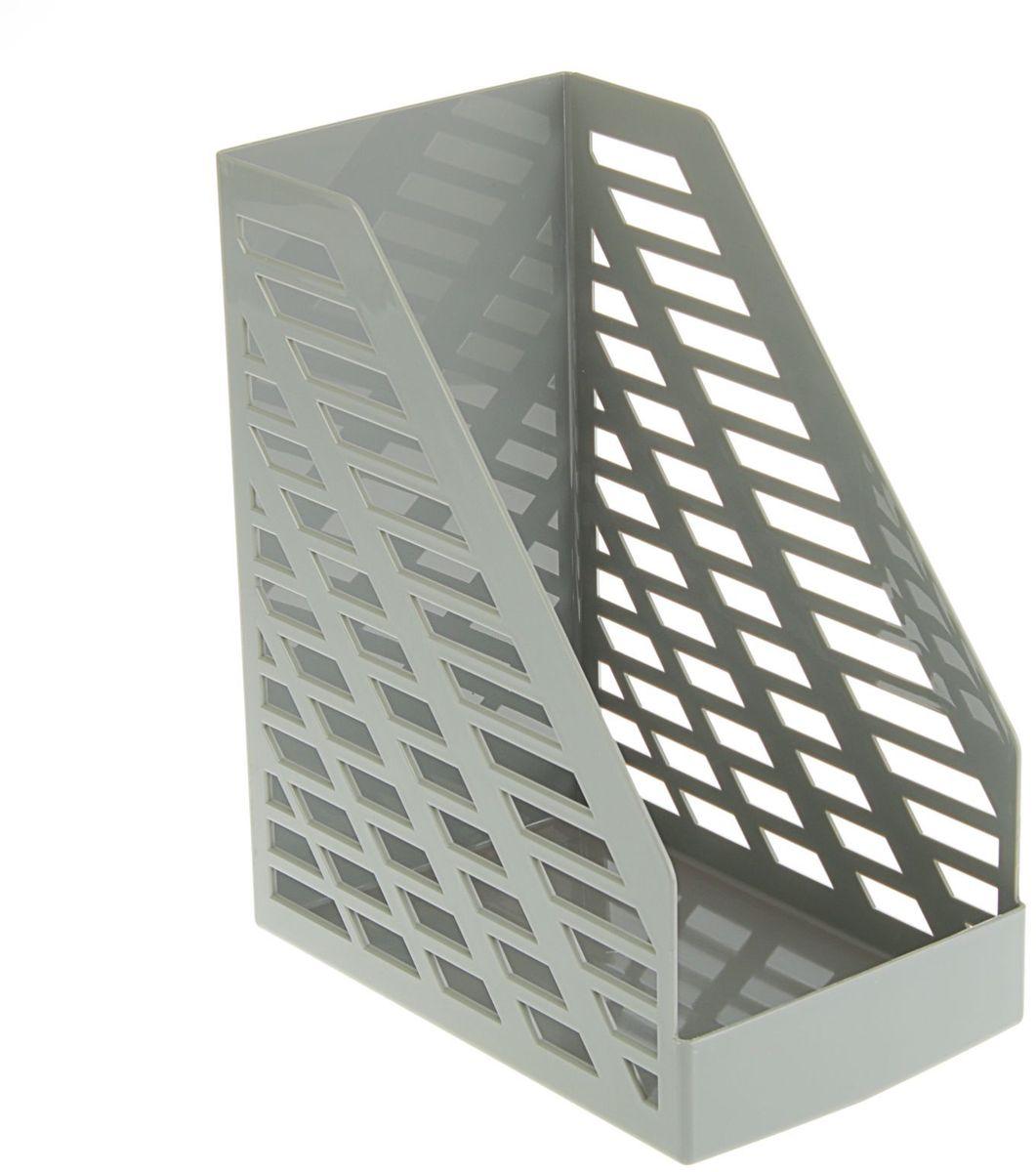 Стамм Лоток для бумаг вертикальный XXL цвет серый 1889792 Уцененный товар (№2)