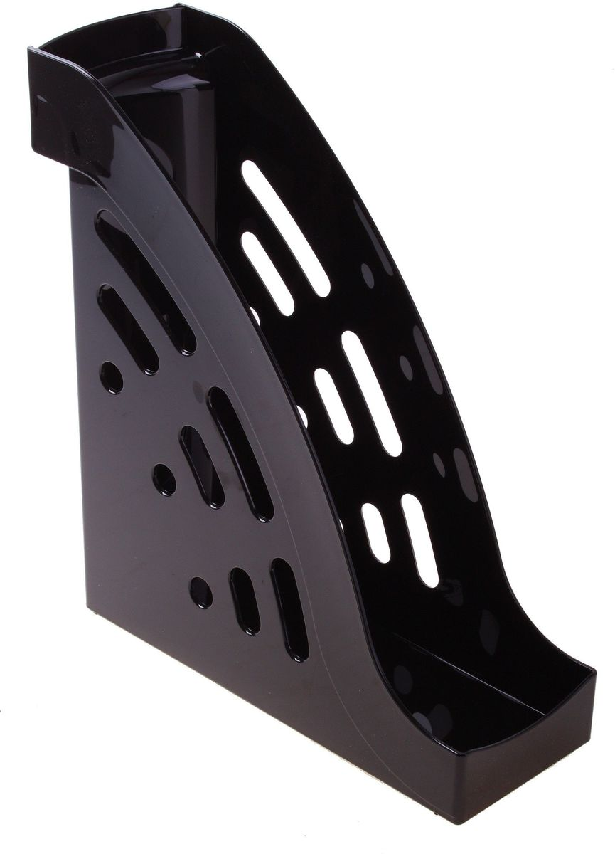 Стамм Лоток для бумаг вертикальный Торнадо цвет черный лоток для бумаг sponsor вертикально горизонтальный семисекционный черный st905 7