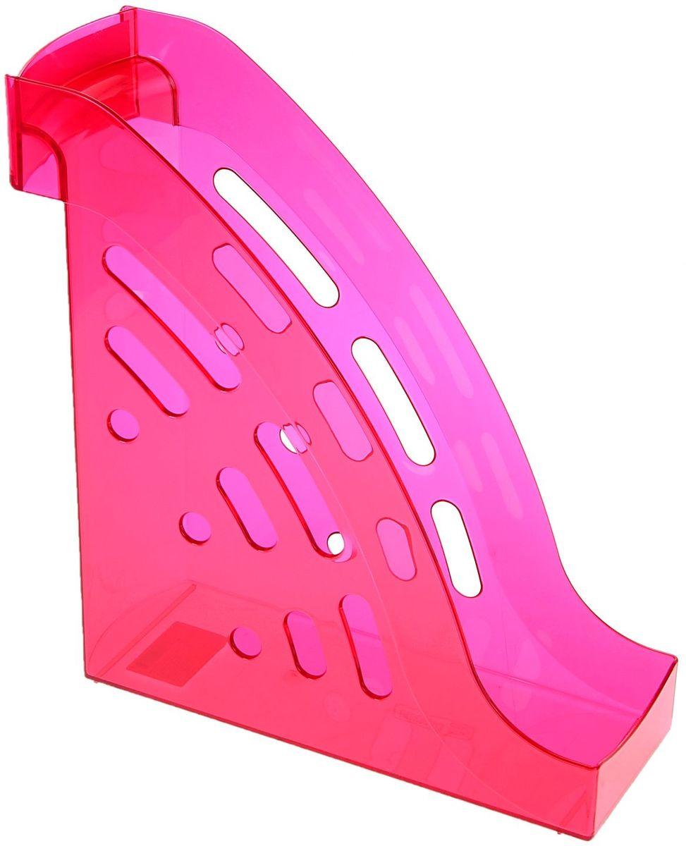 Стамм Лоток для бумаг вертикальный Торнадо цвет вишневый цена
