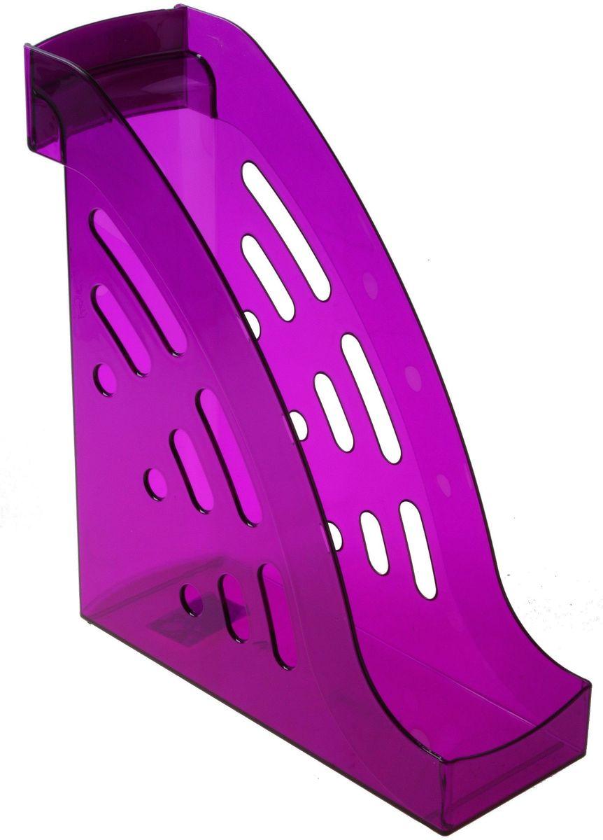 Стамм Лоток для бумаг вертикальный Торнадо цвет сливовый цена