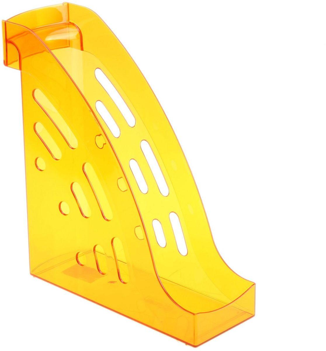 Стамм Лоток для бумаг вертикальный Торнадо цвет манго цена