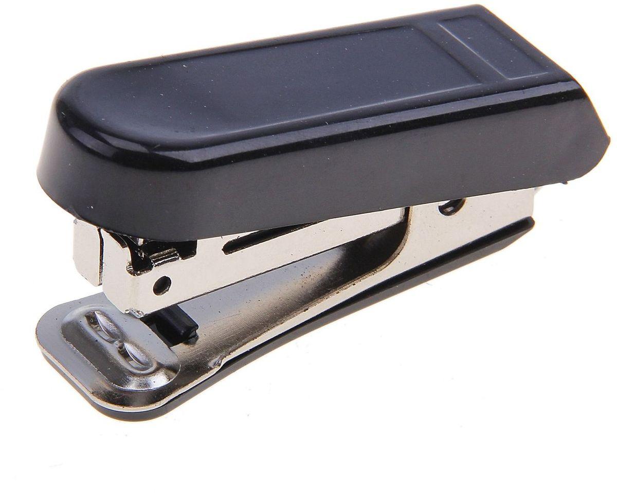 OfficeSpace Степлер №10 цвет черный 781895781895Стильный, удобный и практичный степлер OfficeSpace - незаменимый офисный инструмент.Он выполнен из пластика с металлическим механизмом. Степлер рассчитан на скрепление 10 листов скобами №10.Степлер OfficeSpace с надежным корпусом и эргономичным дизайном гарантирует стабильную и качественную работу в течение долгого времени.