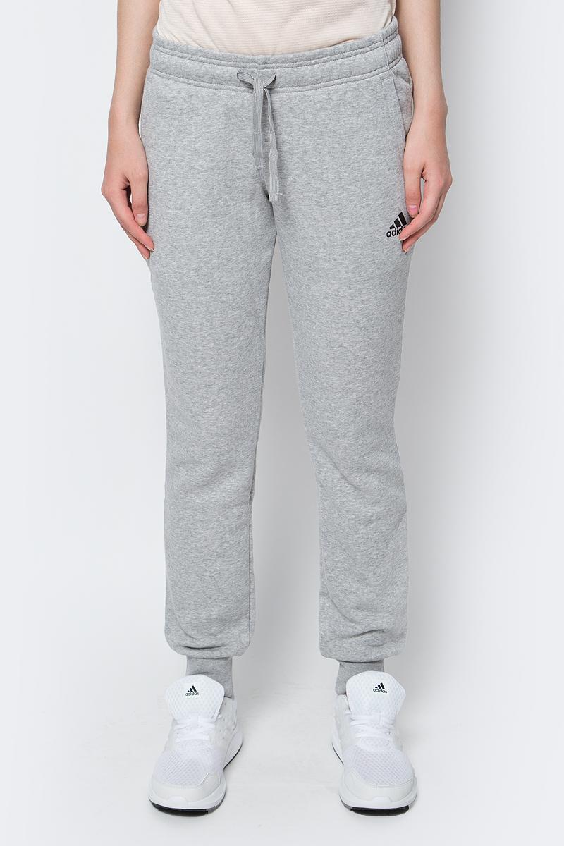 Брюки спортивные adidas Ess Solid Pant брюки спортивные для мальчика adidas yb mh pl pant цвет черный белый dv0797 размер 122
