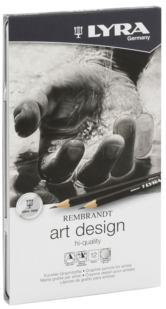 Lyra Художественные карандаши Art Design 12 шт карандаши чернографитные index i301 6b i301 6b