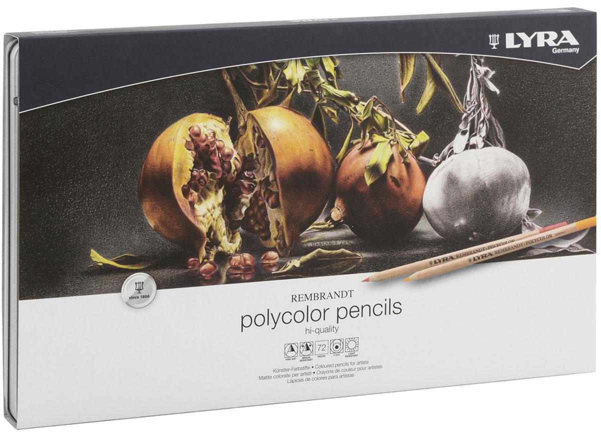 Lyra Набор художественных цветных карандашей Rembrandt Polycolor 72 шт lyra набор художественных цветных карандашей rembrandt polycolor 72 шт