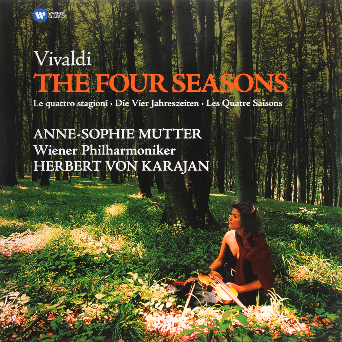 Анна-Софи Муттер,Герберт Караян,Wiener Philharmoniker Anne-Sophie Mutter, Herbert Von Karajan, Wiener Philharmoniker. Vivaldi. The Four Seasons (LP) анна софи муттер ламберт оркис anne sophie mutter lambert orkis beethoven die violinsonaten 4 cd