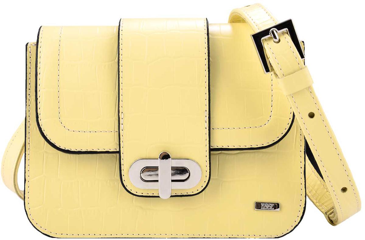 Сумка женская Esse Селеста, цвет: желтый, черный сумка esse esse mp002xw19ext page 7 page 10 page 6 page 5