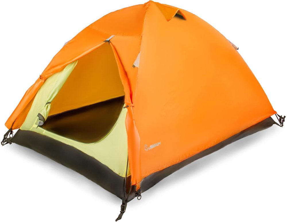 Палатка Larsen A2, цвет: оранжевый, серый