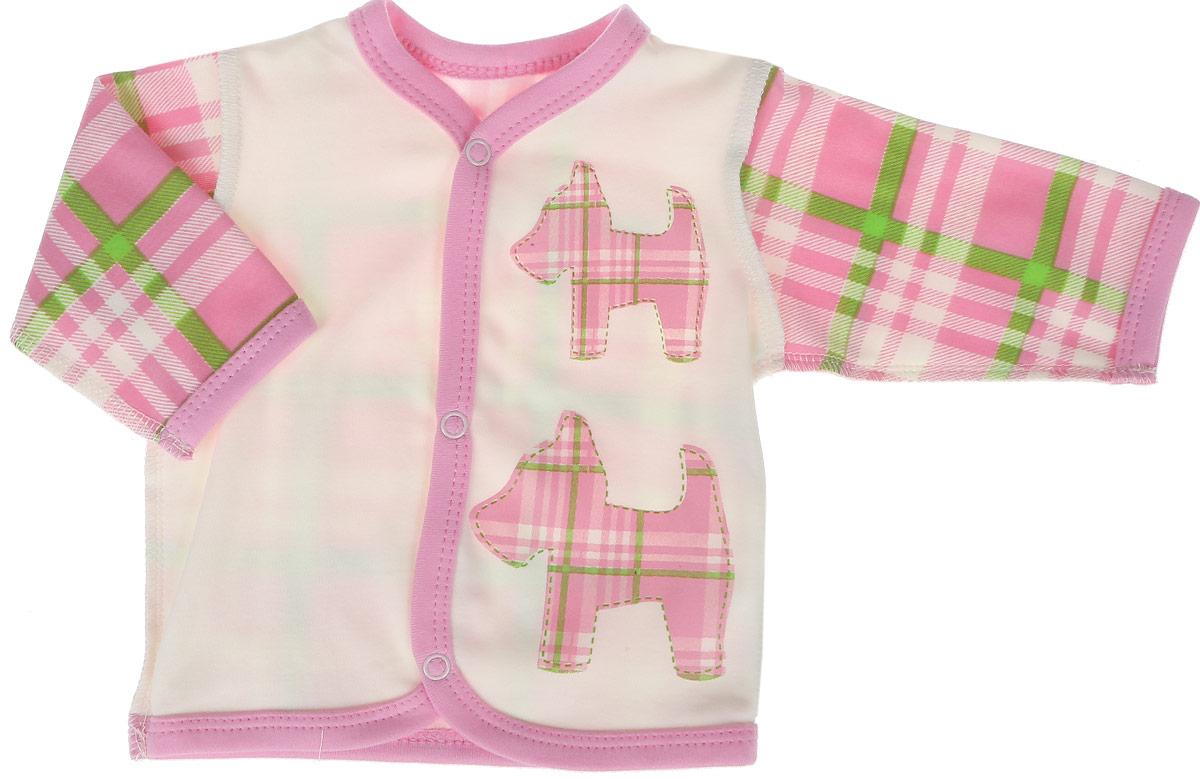 Кофта КотМарКот комплект одежды для девочки котмаркот кофточка штанишки цвет розовый 2802 размер 56