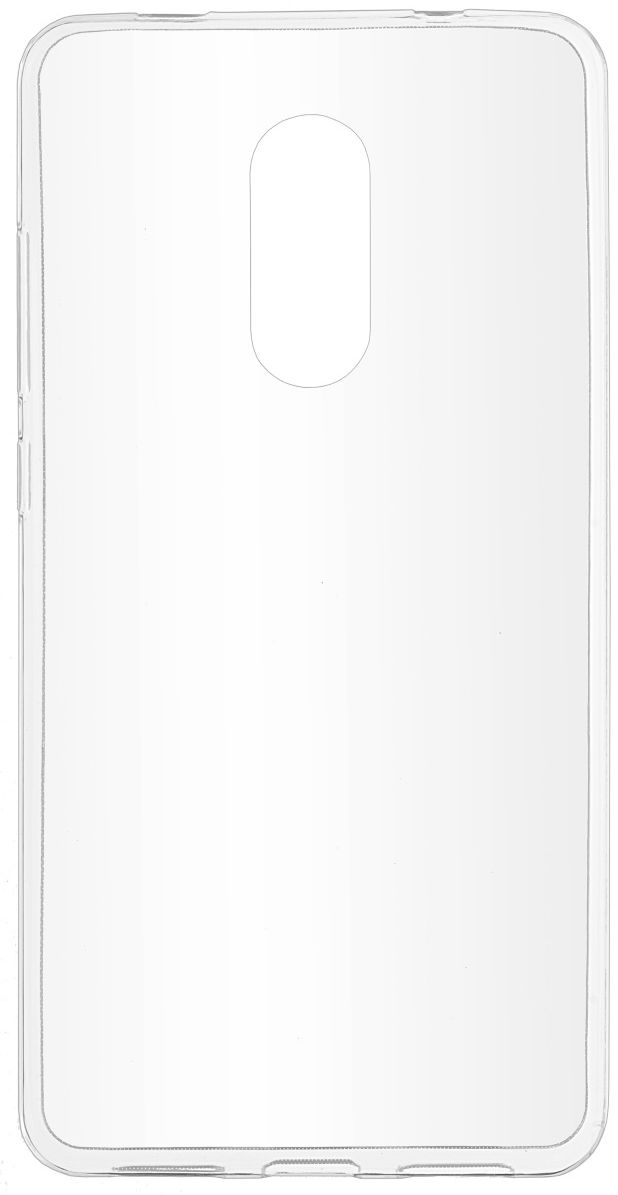 Skinbox Slim Silicone чехол для Xiaomi Redmi Note 4X, Transparent