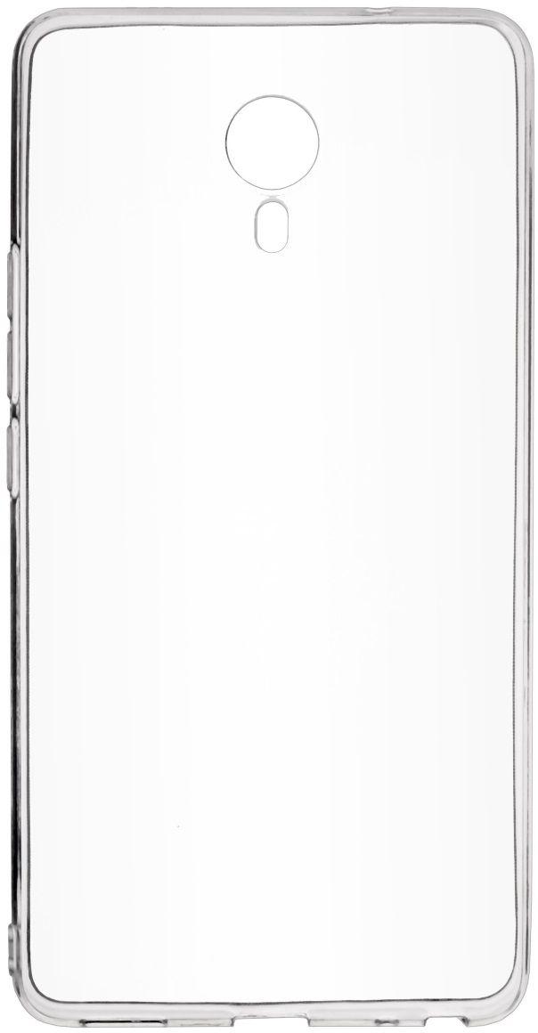 Skinbox Slim Silicone чехол для Meizu M3 Max, Transparent meizu m3 max gold white