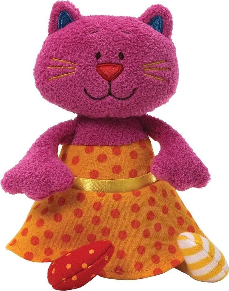 Gund Мягкая игрушка Sock Hop Chime Missy Meow 20 см недорого