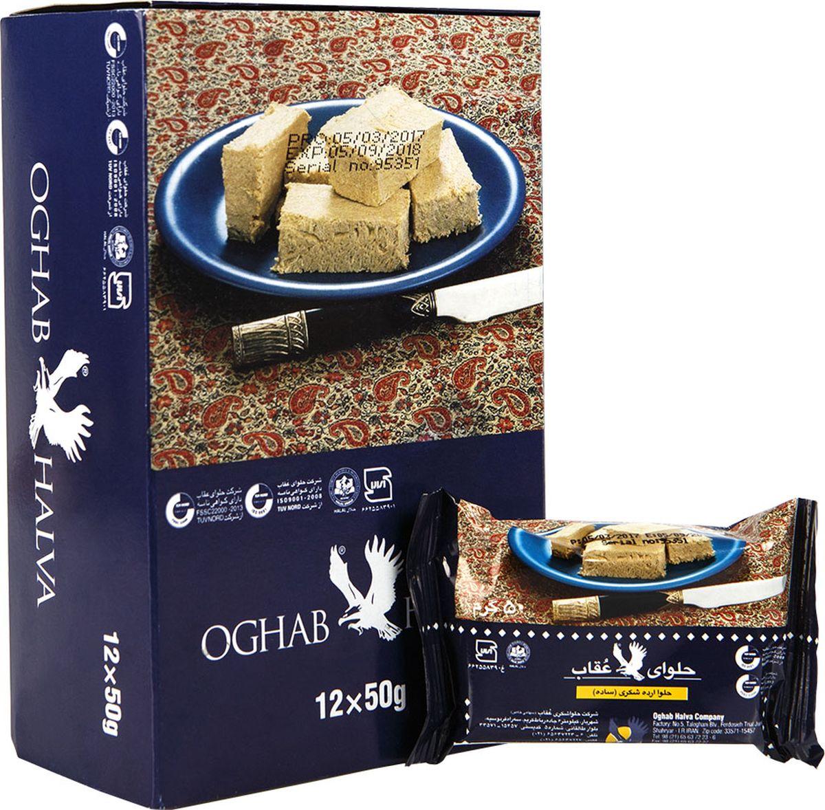 Oghab халва кунжутная, 50 г цена