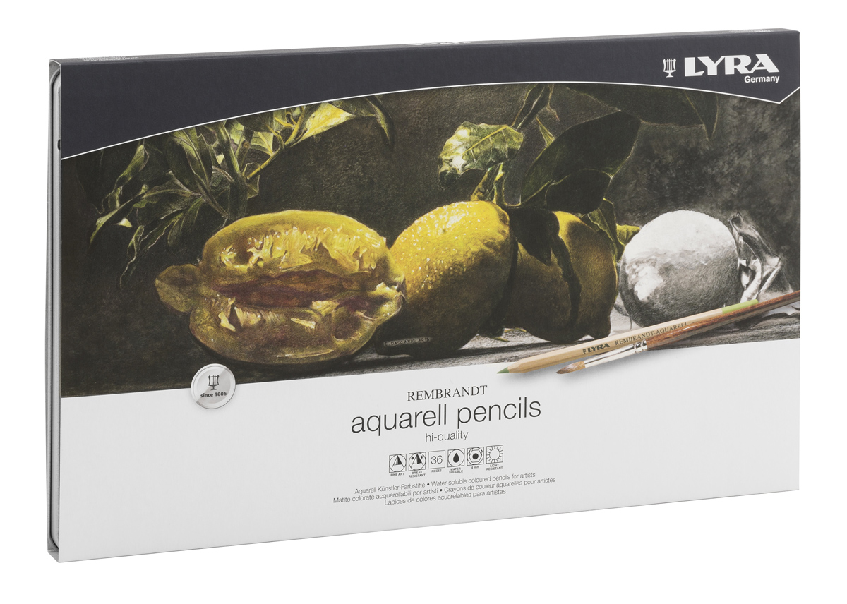 Lyra Набор художественных цветных карандашей Rembrandt Aquarell 36 шт lyra набор художественных цветных карандашей rembrandt polycolor 72 шт