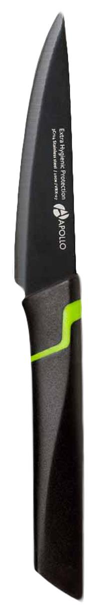 Нож для овощей Apollo Vertex, длина лезвия 10 см. VRX-07 нож apollo vertex 18 5см кухонный нерж сталь с покрытием