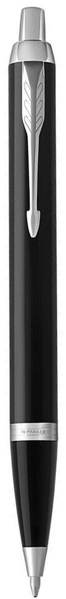 Parker Ручка шариковая IM Black CT цвет черный серебристый parker ручка шариковая im black gt цвет черный золотистый