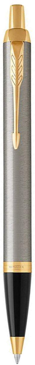 Parker Ручка шариковая IM Brushed Metal GT parker ручка шариковая im black gt цвет черный золотистый