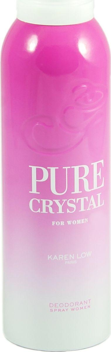 Geparlys Парфюмированный дезодорант для женщин Deo Pure Crystal линии Karen Low , 200 мл