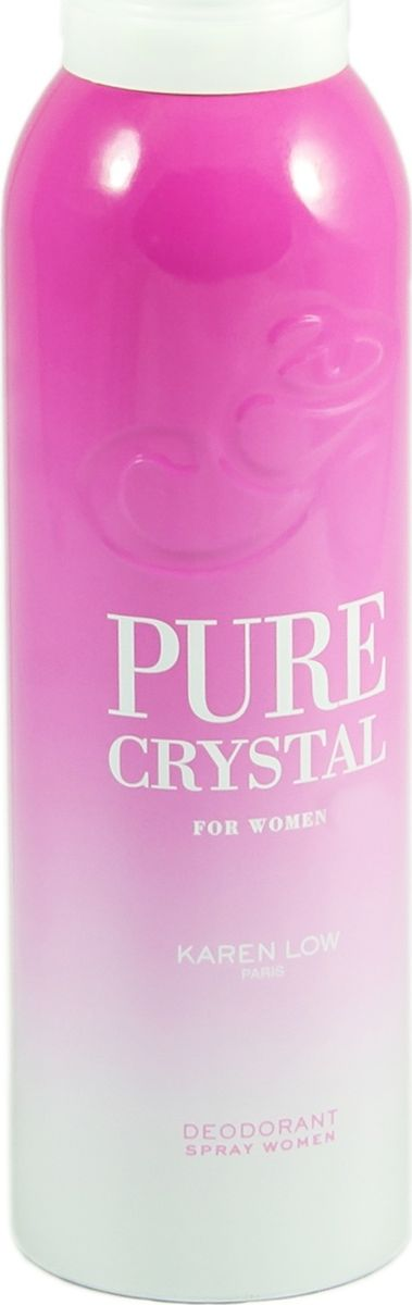 Geparlys Парфюмированный дезодорант для женщин Deo Pure Crystal линии Karen Low , 200 мл geparlys парфюмированный дезодорант для женщин deo pure crystal линии karen low 200 мл